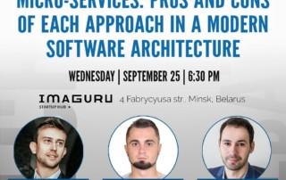 Minsk TechDebate Monolith vs Microservices