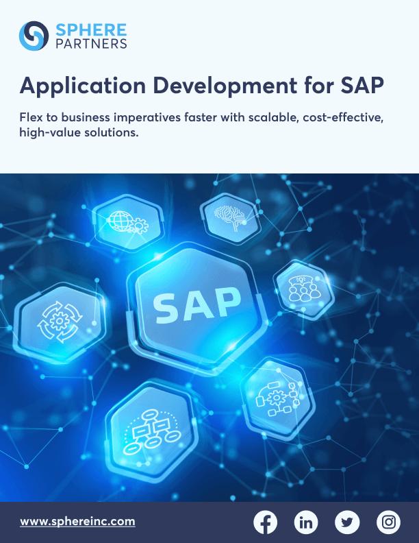 Sphere's SAP Application Development Services