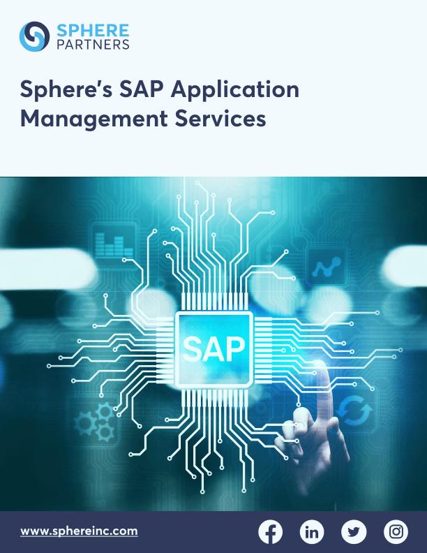 Sphere's SAP Application Management Services