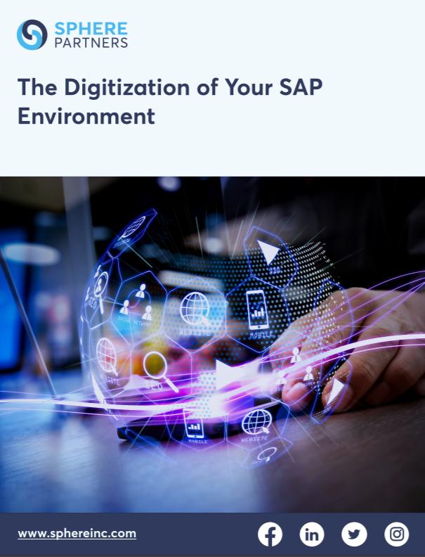Flexible and Efficient Digitization of SAP Environment