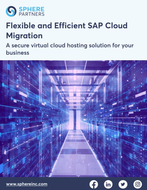Flexible and Efficient SAP Cloud Migration