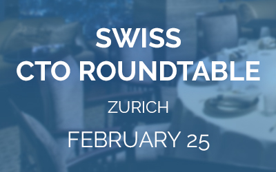 CTO Roundtable for Tech Leaders in Zurich