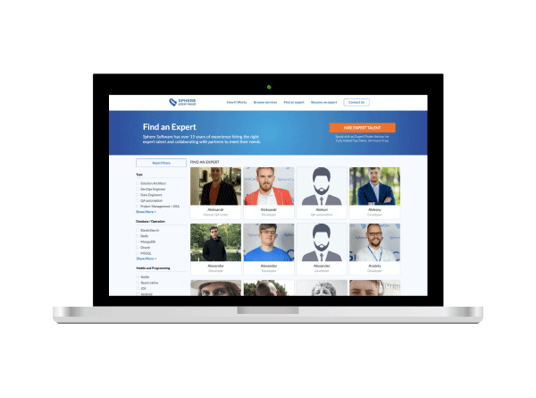Build your Own Tech Team with Expert Finder