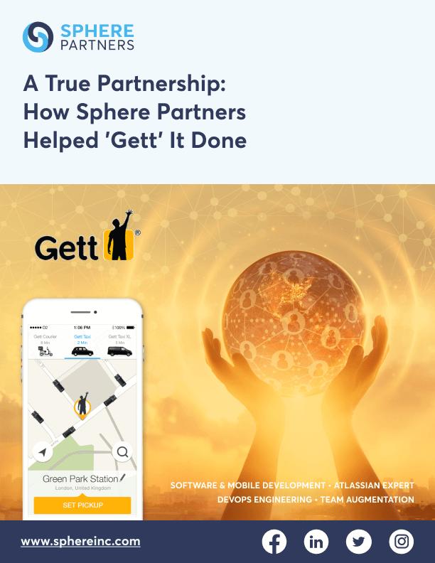 A True Partnership: How Sphere Software Helped 'Gett' It Done